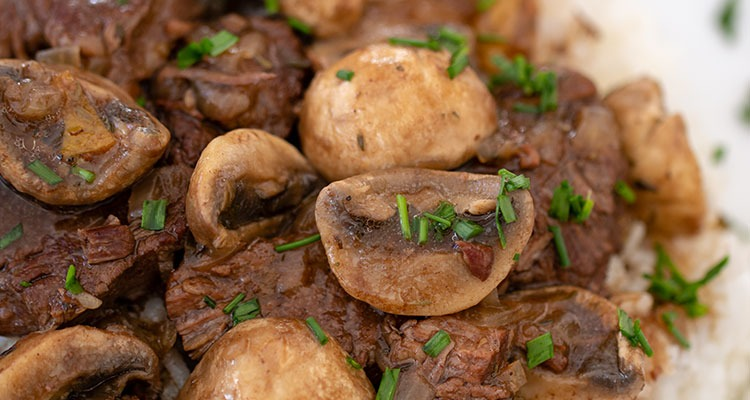 Five Spice Beef and Mushroom Stew